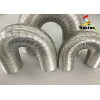 Buy cheap Aeration System Semi Rigid Vent Aluminum Duct Pipe Eco - Friendly For Ventilation from wholesalers