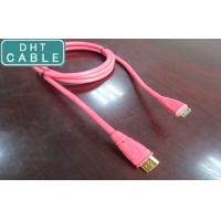 Buy cheap High Speed Pink Custom Molded Cable Assemblies HDMI A Type Male To C Type Male from wholesalers