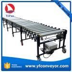 Buy cheap High efficiency conveyor belt flexible telescopic motorized roller conveyor from wholesalers