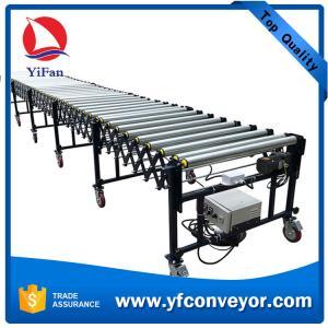 Wholesale High efficiency conveyor belt flexible telescopic motorized roller conveyor from china suppliers