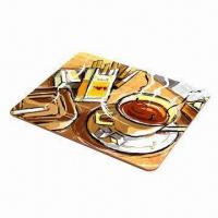Buy cheap MDF/Cork Back Placemat, Measures 43 x 28cm, Suitable for Promotional Gifts product