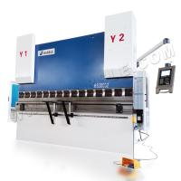 Buy cheap Delem system DA52 cnc iron sheet bending machine plate metal press brake used aluminum brakes from wholesalers