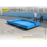 Buy cheap Flat Steel Battery Powered Cart Export  No Rail Vehicle With PLC Control from wholesalers