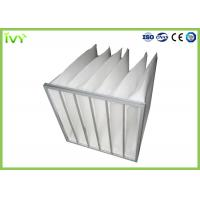 Buy cheap Customzied Replacement Air Filter Bag Type Synthetic Fiber Filter Media product
