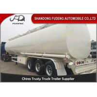 Buy cheap 60000 Liters fuel tank truck trailer for edible cooking oil delivery sale from wholesalers