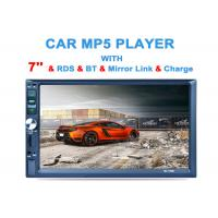 China MIrror Link Car Mp5 Player Gps Double Din Touch Screen Mp5 Player Bluetooth on sale