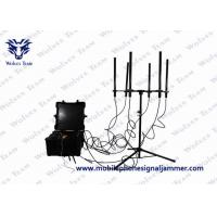 Buy cheap 160W Jamming Range 300 To 1000 Meters High Power up to 1000m Drone Signal Jammer from wholesalers