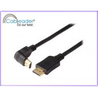 Buy cheap A Type right angle Male To A Type Male 300V DC audio return channe 1080P HDMI Cables 1.4 from wholesalers