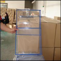 Buy cheap Transparent pvc ticket/file holder without zip, PVC file bag, plastic document bags A4 paper from wholesalers