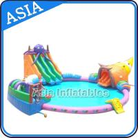 Buy cheap Big Inflatable Pool Water Park , Water Playground , New overground Inflatable Water Park from wholesalers