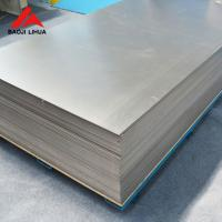 Wholesale Titanium Alloy Plate 1.0mm 1.2mm For Anodizing Jig As A Hanger from china suppliers