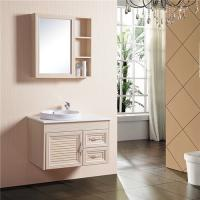 Buy cheap 800*500mm Size Bathroom Sinks And Vanities Aluminum Alloy Material With Mirror Cabinet from wholesalers