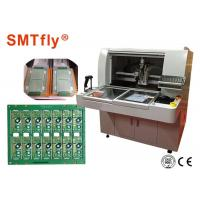 Buy cheap 0.05mm Accuracy Depaneling Router Printed Circuit Board Machine For PCB Panel Connection With Milling Joints from wholesalers