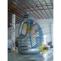 Buy cheap Blue Giant Tarpaulin Inflatable Product Replicas , Blow Up Bottle For Advertisement from wholesalers