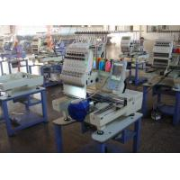 Single Head Computerized Embroidery Machine For Cap / Flat / T - Shirt / Shoes Manufactures