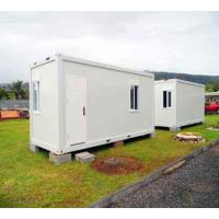 Buy cheap Light Steel Structure Container House Prefab Steel Frame Single Open Door product