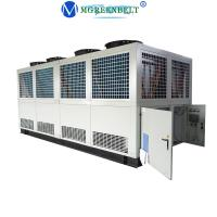Buy cheap 250 Kw 100 Hp Industrial Air Cooled Screw Water Chiller For Plastic Injection Machine from wholesalers