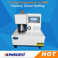 Buy cheap AC220 V±10% 50Hz 120wFully Automatic Paper Testing Equipments , Corrugated Board Paper Bursting Strength Tester  from wholesalers