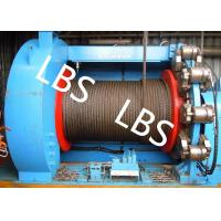 China Lebus Grooves Offshore Winch Oil Well Drilling Rig Parts Winch With Brake Disc on sale
