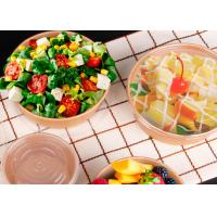 Buy cheap Kraft paper bowl disposable hot soup paper bowl from wholesalers