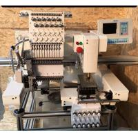 Electronic Tee Shirt Embroidery Machine High Precision With Liquid Crystal Display Manufactures