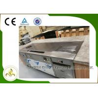 Buy cheap Multi Function Teppanyaki Grill Table Stainless Steel Electromagneitc Soup Stove Barbecue from wholesalers