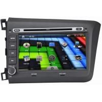 Buy cheap 8 Inch 2012 Honda Civic Car Radio with HD Digital touch Screen mp3 mp4 player OCB-8631 from wholesalers