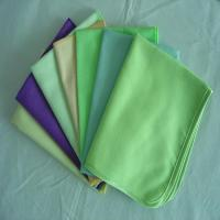 Buy cheap Micro fiber suede cleaning cloth from wholesalers