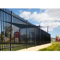 Buy cheap Corrugated Galvanized Steel Pipe Fence for Australia Standard from wholesalers