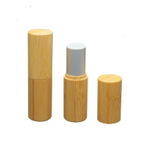 Buy cheap 12.1mm Lipstick Tube  Empty Container Bamboo Cosmetic  Environment-Friendly from wholesalers