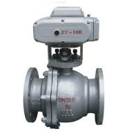 Electric actuator flange ball valve Manufactures