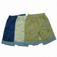 Buy cheap Boys' Short Pants/Breeches, Chino Pants Rolled, Top Brand in China, Solid Colors from wholesalers