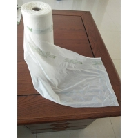 Buy cheap Grocery Vegetables Biodegradable 200mic Poly Bags Roll from wholesalers