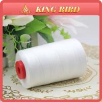 Buy cheap High Strength Spun 100% Polyester Sewing Threads 60S/3 Raw White from wholesalers