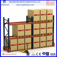 Buy cheap Adjustable Q235b steel beam rack/pallet rack  for warehouse rack with 75mm and 50.8mm pitch from wholesalers