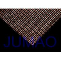 Buy cheap Interior Woven Wire Architectural Metal Fabric Sun Protection For Railing from wholesalers