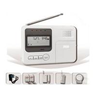 Buy cheap two-way intercom GSM auto alarms systems with LCD screen from wholesalers