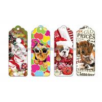 Buy cheap Reading Lenticular Personalized 3d Bookmarks For Kids To Print 3d Animal Bookmarks from wholesalers