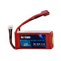 Buy cheap Rix Power 1300mah 35c 3s, RC Airplane Lipo Battery, RC Helicopter Lipo Battery from wholesalers