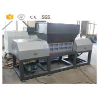 Buy cheap Double Shaft Scrap Metal Shredder Machine For Waste Tire Rubber Plastic from wholesalers