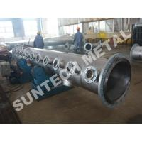 China Chemical Process Equipment Titanium Gr.2 Piping for Paper and Pulping on sale