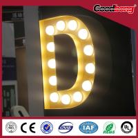 Buy cheap High quality lighted sign letters, 3D sign letters, channel letter ,metal letter sign from wholesalers