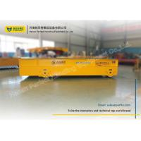Buy cheap Custom remote control/pendant 1-300t Flat Low Bed Rail Industrial Trolleys from wholesalers