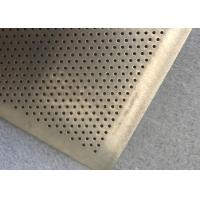 Buy cheap Round hole high tension fine wire mesh filter plate for filter oil from wholesalers