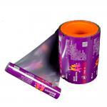 Buy cheap Hot Selling PET/VMPET/PE laminating snack nut packaging food grade plastic film roll from wholesalers