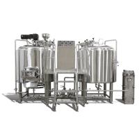 Buy cheap 500L 1000L 2000L Craft Beer Brewing System Two Vessel Brewing Unit Tanks from wholesalers