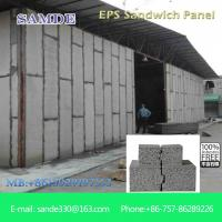 Buy cheap Light weight precast concrete wall panels  eps board 2440*610*75mm from wholesalers