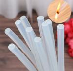 Buy cheap Flexible Heat Melt Glue Stick Silicone 100% Transparent Black Hot Melt Glue Stick Black Hot Melt Adhesive Glue Stick Str from wholesalers