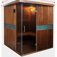 Buy cheap Full Spectrum Far Infrared Sauna Cabin , Canadian Cedar Garden Dry Heat Sauna product