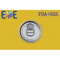 Buy cheap OEM FA Tinplate Easy Open Ends For Ketchup POP Top Can , 50mm from wholesalers